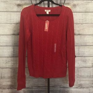Arizona Rumba Red Sweater